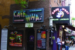 Cafe Wha front