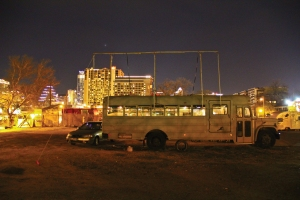 east side drive-in front