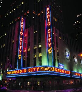 Radio City Music Hall front
