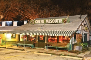 Green Mesquite BBQ front