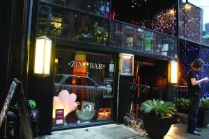 Zinc Bar front