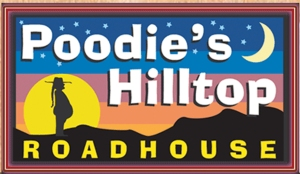 poodie's Hilltop Roadhouse logo