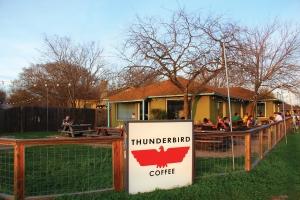 thunderbird coffee front